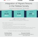 RC Training: Integration of Migrant Persons in the Maltese Society